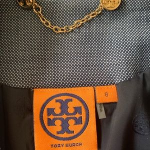 Tory Burch Jackets & Coats - GUC Tory Burch blue blazer size 8